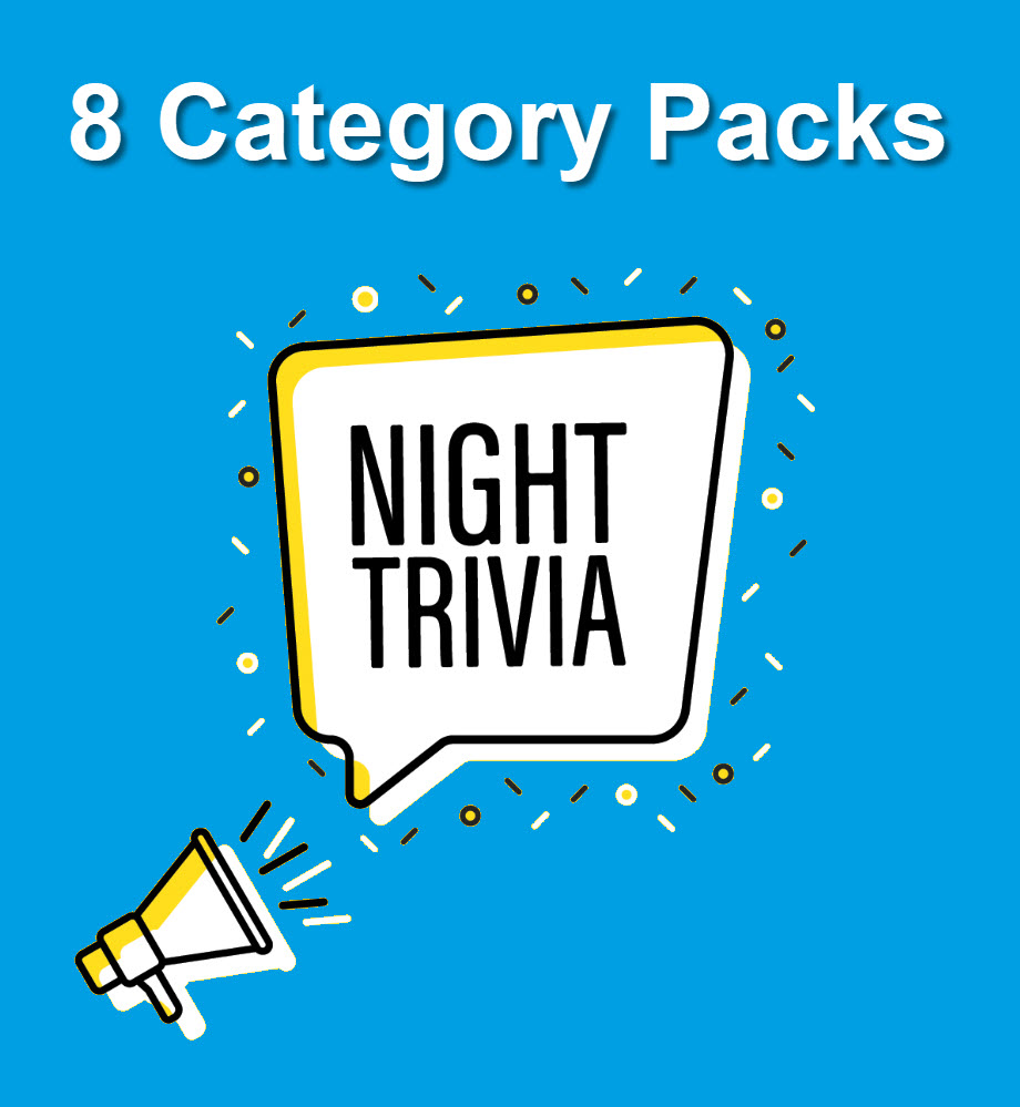 8 Categories Trivia Packs Archives - All Things Trivia